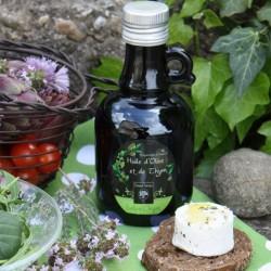 Huile d'olive, ail et thym