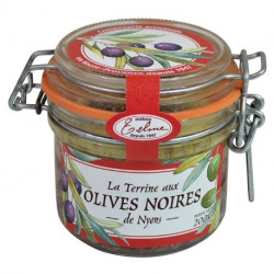 Terrine with Black Olives...