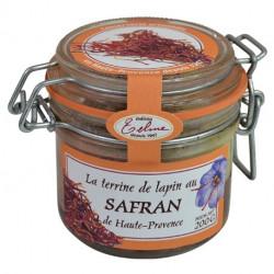 Rabbit terrine with saffron...