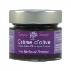 Crème d'olive aux herbes de...